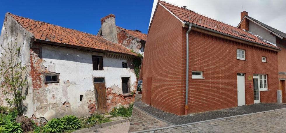 Nowe życie starego budynku w Młynarach