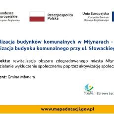 Rewitalizacja budynku komunalnego przy ul. Słowackiego w Młynarach